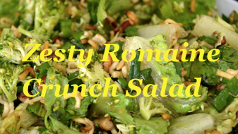 Zesty Romaine Crunch Salad