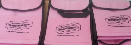 Pink Cooler Bags | Passanante's Home Food Service