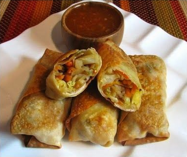 For The Baked Veggie Egg Rolls