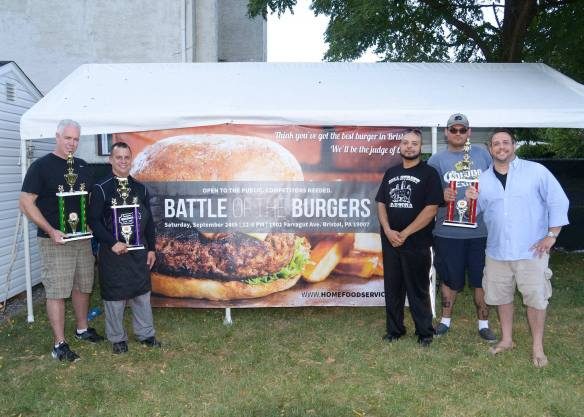 Battle of the Burgers Winners